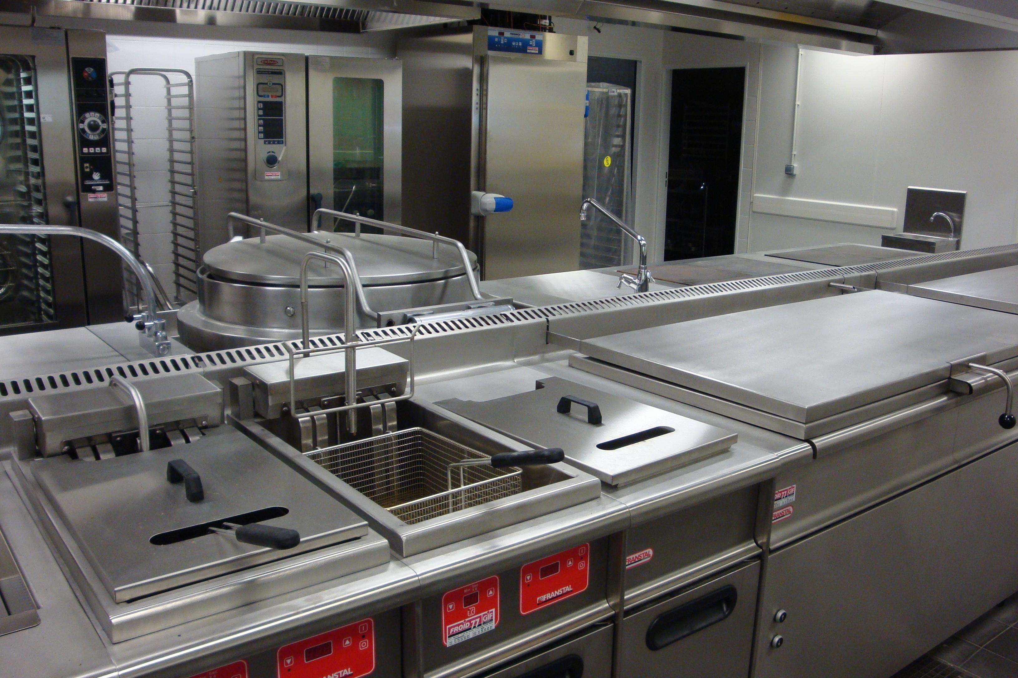 bloc de cuisson central standard