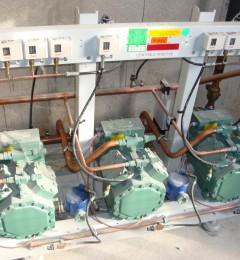 centrale frigorifique positive - compresseurs blitzer
