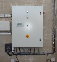 armoire de regulation - variateur de frequence