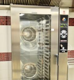 cuisson verticale - four mixte 20 niveaux
