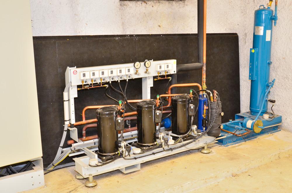 centrale frigorifique - 3 compresseurs