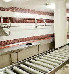 environnement laverie - poste de tri bicordes