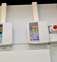 coffrets de regulation et alarme personne enfermee - chambre froide