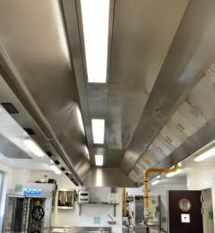 plafond filtrant - cuisine professionnelles - systeme d'extraction