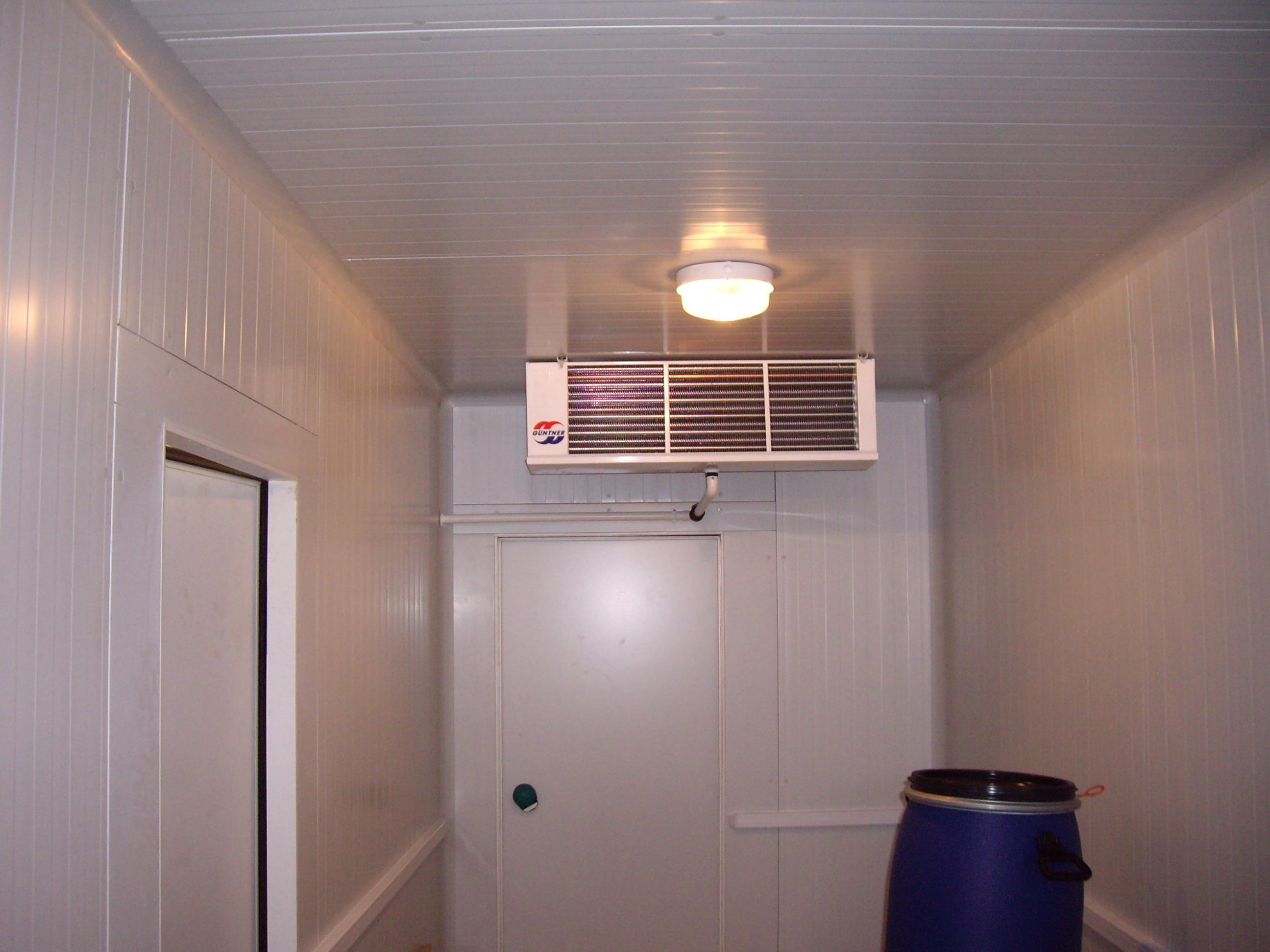 evaporateur guntner - chambre froide positive