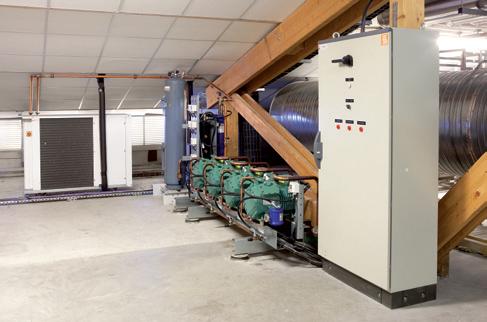 centrale frigorifique - 4 compresseurs blitzer