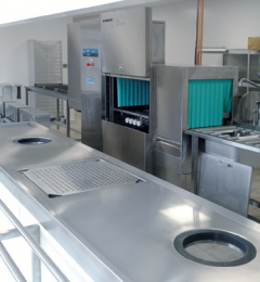 poste de tri participatif - laverie vaisselle